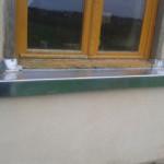 Appui de fenêtre en zinc naturel