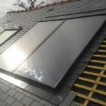 Entourage de panneaux solaires thermiques